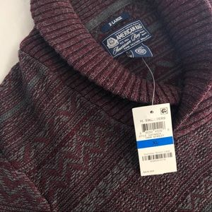 Men's Shaw-Collar Sweater - XL